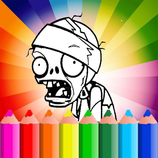 coloring book for plants vs zombie (Plants Vs Zombies Zombie)