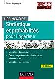 Aide-mémoire - Statistique et probabilités pour les ingénieurs - 3ed