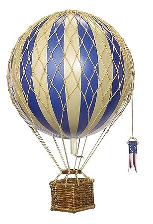 Amazoncom Travels Light Hot Air Balloon Blue Authentic Models