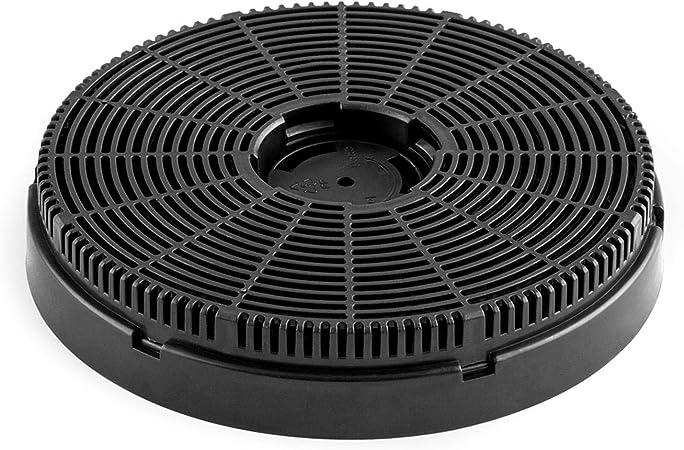 Klarstein Maverick filtro de carbón activo para extractor de humos, 1 filtro, Ø 15,9 cm, ventilación, accesorio: Amazon.es: Hogar