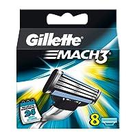 Gillette Mach 3Blades–(Pack of 8)