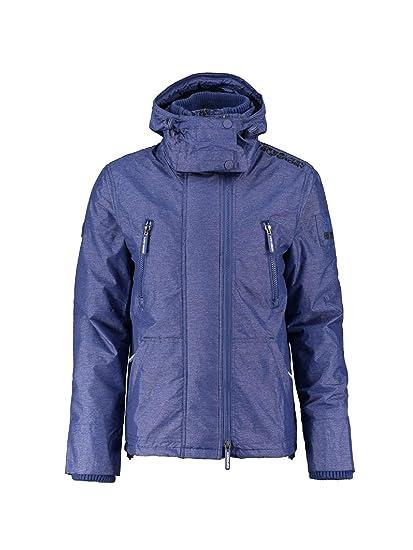 2fba1ac1660171 Superdry M50007ZPF3 Down Jacket Man Blue 3XL: Amazon.co.uk: Clothing