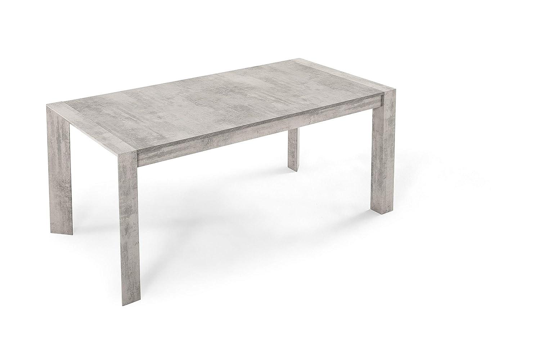 Dafnedesign.Com - Mesa Extensible Cemento (cm. 180 x 90 x 75 ...