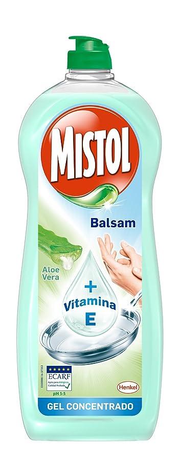 Mistol - Lavavajillas Aloe Vera 650 ml: Amazon.es: Alimentación y ...