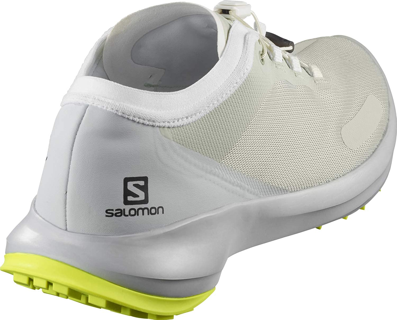 Salomon Sense Feel, Chaussures De Trail Homme Gris Mineral Gray Pearl Blue Safety Yellow