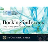 "Bockingford Watercolour Block 140lb/300gms 10x14""/254x355mm Cold Press"