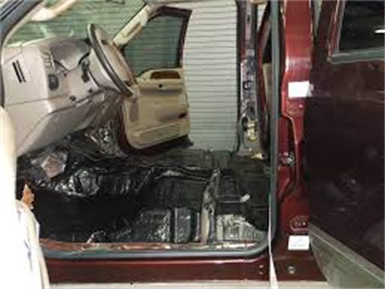 1990-2011 Dodge Dakota Extended Cab Floor Hushmat 664021 Sound and Thermal Insulation Kit