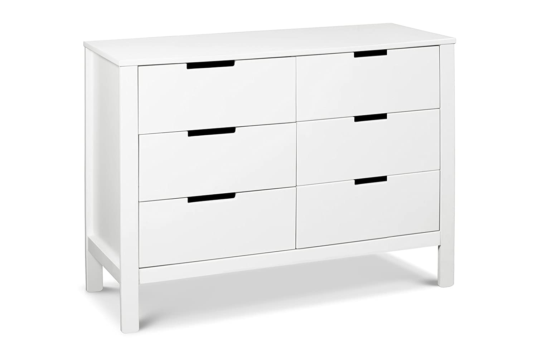 Carter's by Davinci Colby 6 Drawer Dresser, White DaVinci - DROPSHIP F11926W