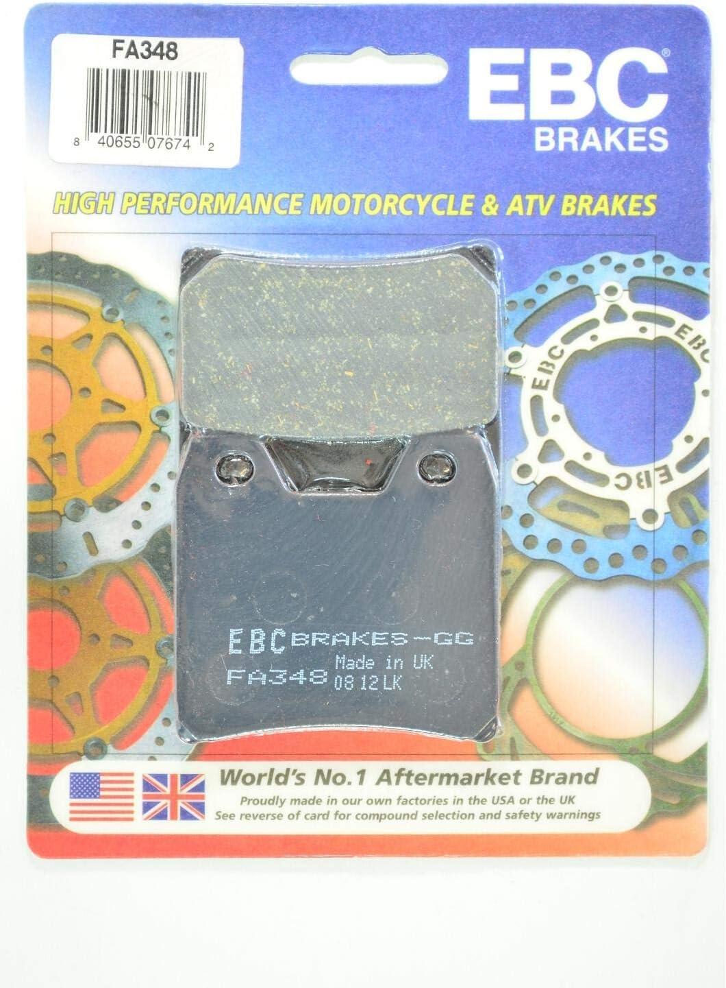 EBC Brake Pads Yamaha FZS1000 FZ1 FA348 Standard Rear