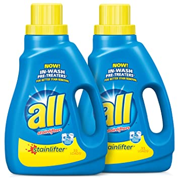 amazon com all liquid laundry detergent stainlifter 50 fluid
