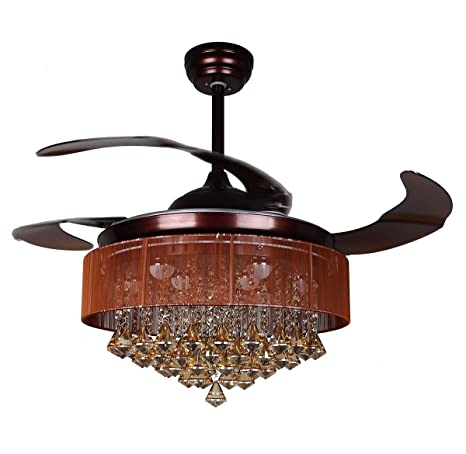 Chandelier Ceiling Fan Dimmable Led Ceiling Fan Parrot Uncle