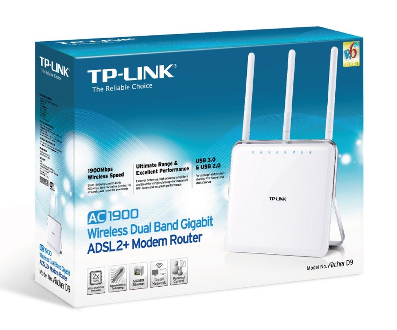 Tp Link Archer D9 Ac1900 Wireless Dual Band Gigabit Century Internet Connection Diagram Adsl2 Modem Router 24ghz 600mbps 5ghz 1300mbps Beamforming 1 Usb 30 Port 20