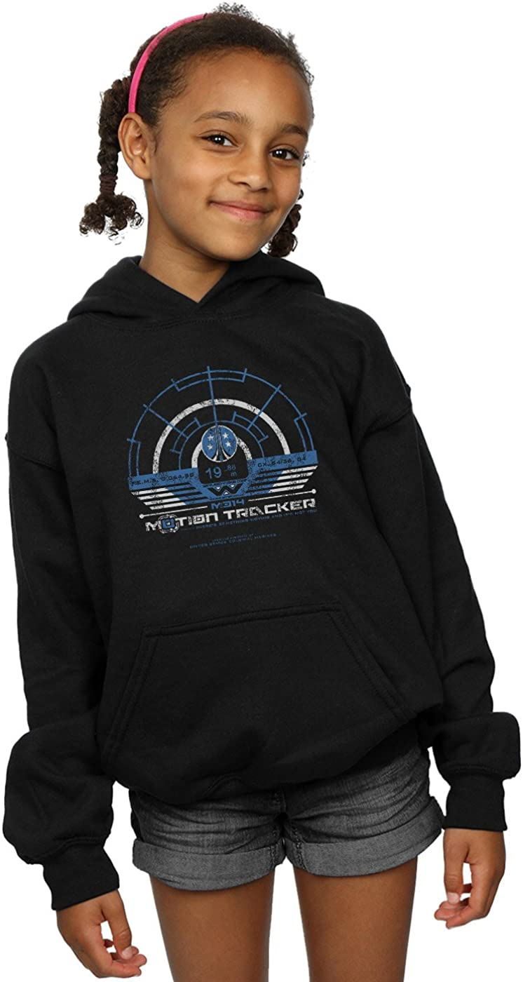 Alex Chenery Girls Weyland Yutani Tracker Hoodie Black 12-13 years