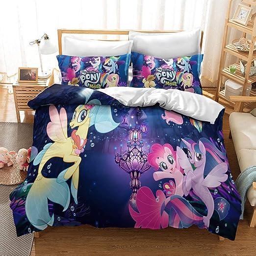 Amazon.com: MULMF Duvet Covers Queen Size, My Little Pony Bedding