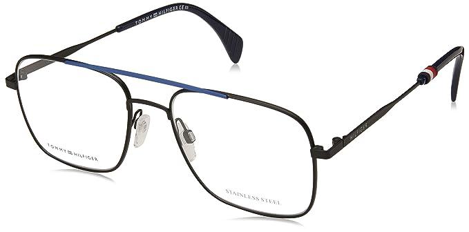 024246ab024ac Tommy Hilfiger TH 1537 BLK BLUE (D51) - Monturas de gafas  Amazon.es  Ropa  y accesorios