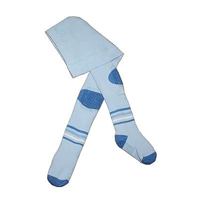 ABS Collants pour enfants anti-glissement, Peluches: Taille: 2-3 Annees (92/98), Couleur: Bleu clair. Prix a partir du fabricant.