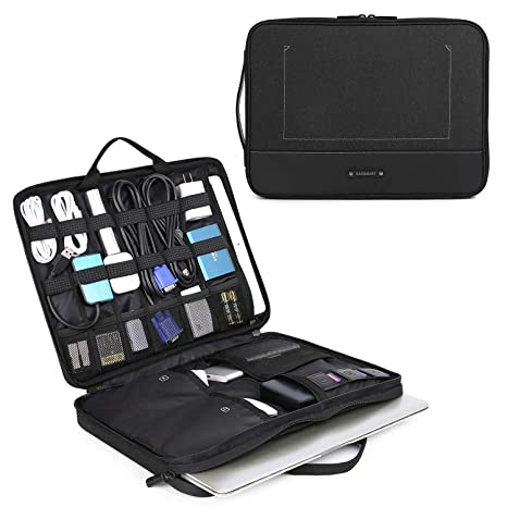 Amazon.com: BAGSMART - Organizador electrónico de cables de ...