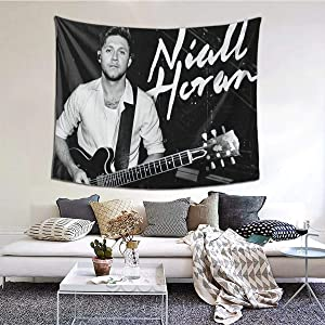 JUDE STEPHENSON Niall Horan Tapestry Wall Hanging Tapestry Decoration Wall Art for Bedroom Dorm Living Room Kitchen Home Decor 60x51 Inches