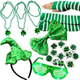 Joyin Toy 20 Pieces Girl's St. Patrick's Day Dressing-up Accessories Party Favors St. Patrick Day