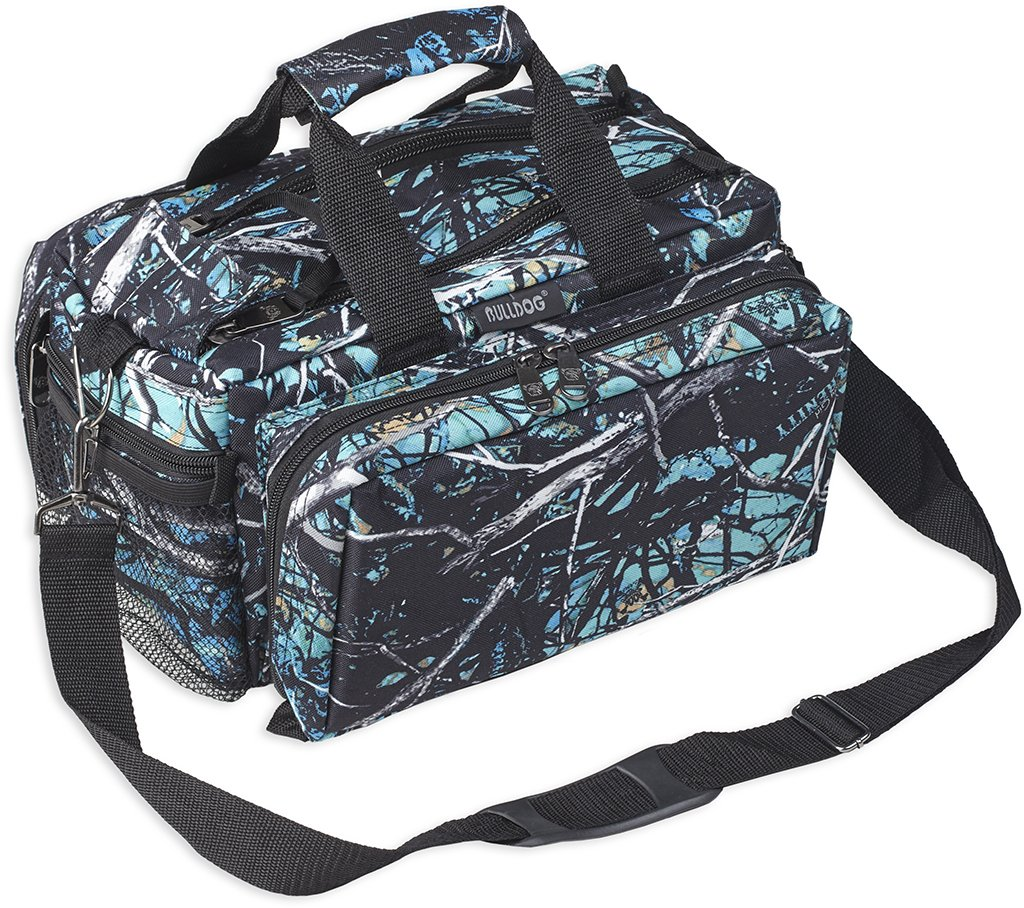 Bulldog Cases Muddy Girl Serenity Camo Deluxe Range Bag with Strap