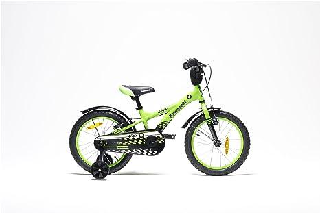 Kawasaki Bicicleta Niño Ninja 16 Green: Amazon.es: Deportes ...