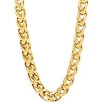 Spangel Fashion Gold Plated Chain for Boys and Mens