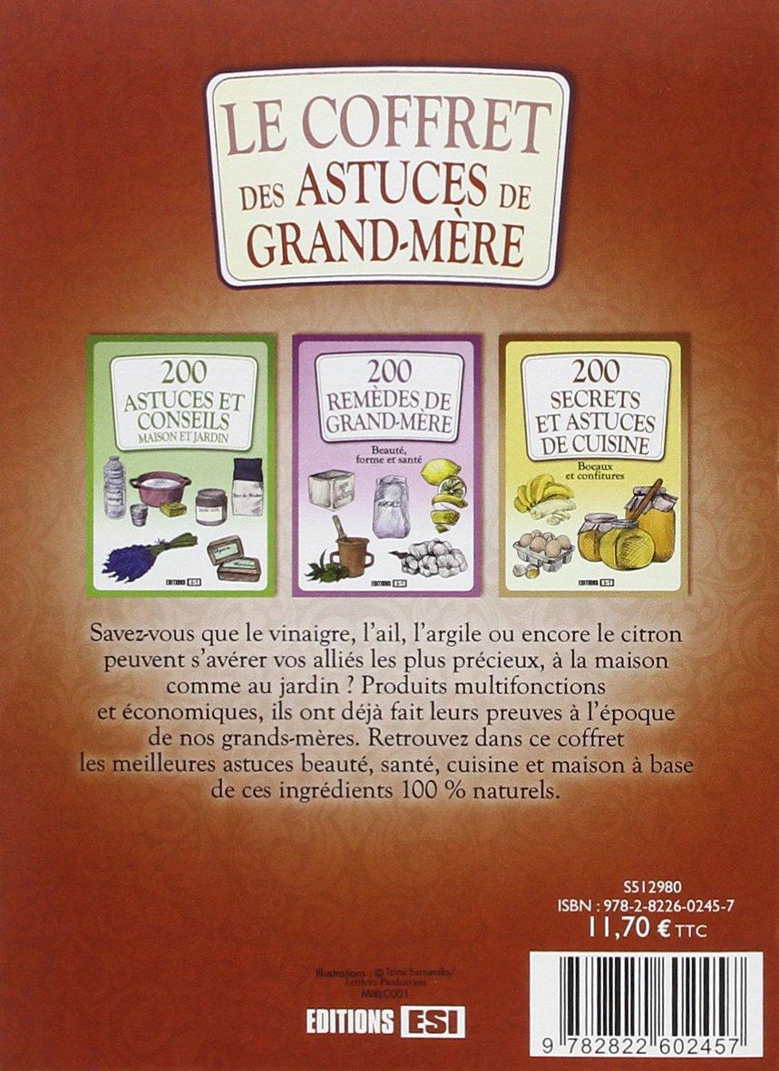 coffret carton 12 volumes   astuces de grand mere TRUCS ET ASTUCE ...