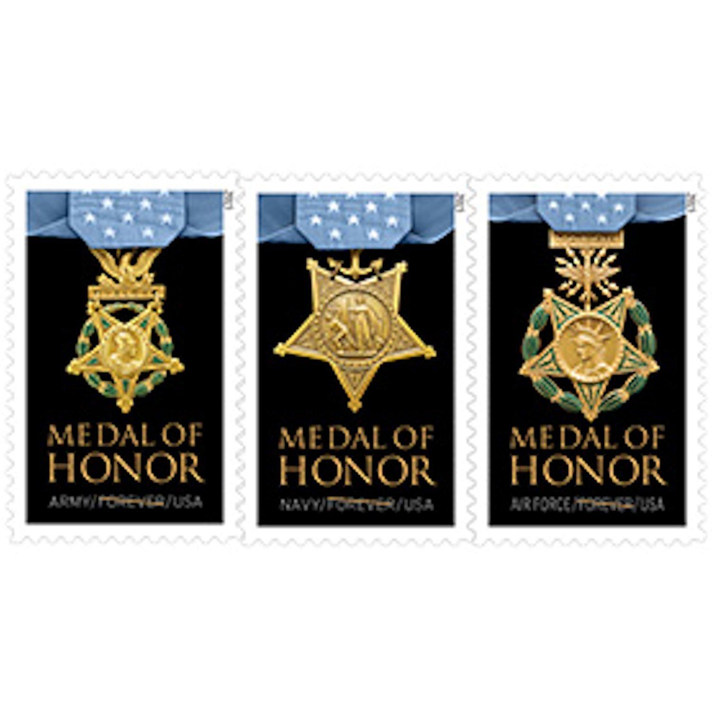 Medal of Honor: Vietnam War Prestige Folio - USPS Forever Stamp - Sheet of 24