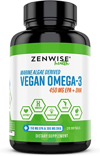 Zenwise Health Vegan Omega 3 Supplement