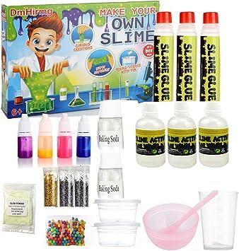 DmHirmg Slime Kit Lab para Hacer tu Propio Limo, Kit de ...