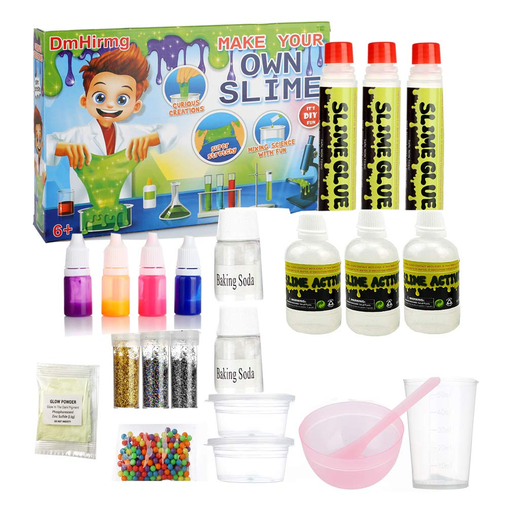 DmHirmg Slime Kit Lab to Make Your Own Slime, Slime Making Kit for Girls, The Best Gifts for Baby (Big Kit) The Best Gifts for Baby (Big Kit) ACXOP