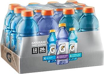 12-Pack Gatorade Frost Thirst Quencher Variety Pack 20 oz Bottles