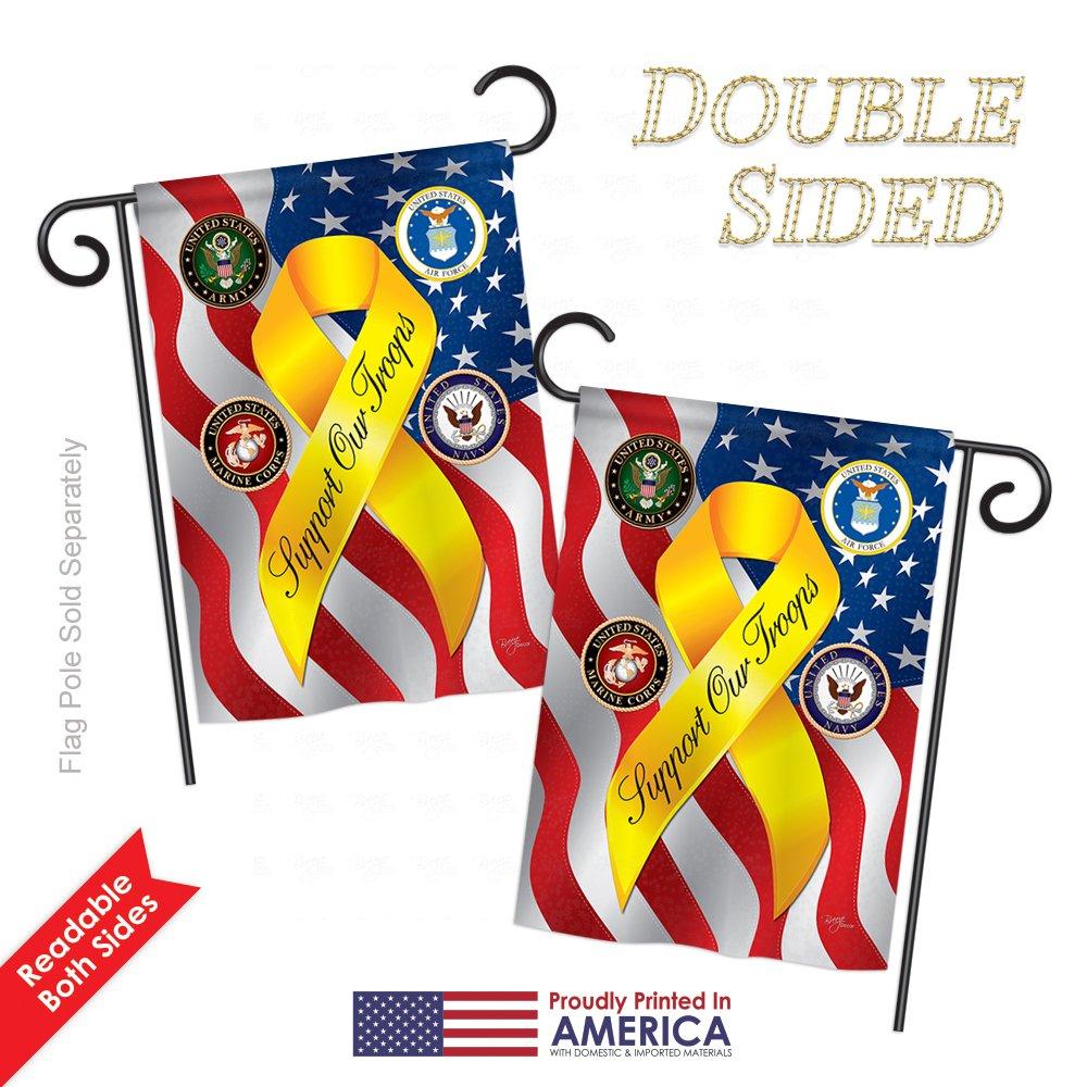 Amazon.com: Apoyo a nuestras tropas Libertad Bandera de ...