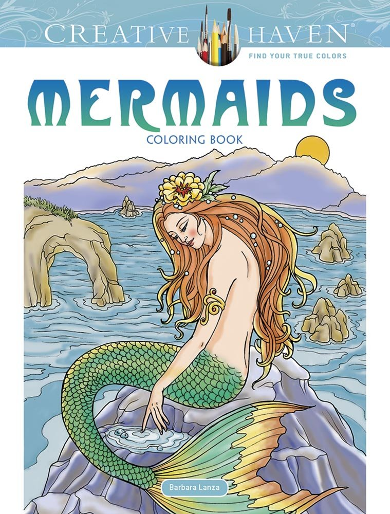 Creative Haven Mermaids Coloring Adult product image
