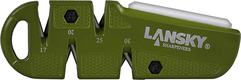 Lansky DSHARP Multi-Angle OD Green D-Sharp Ceramic Benchstone 800 Grit Sharpener
