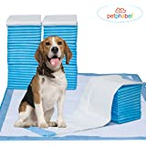 """Pet Training Puppy Pads, 34"""" x 28"""" XXL-Large, Ultra Absorbent - All Day Premium Dog Pads - 20 Count, 42 Count by Petphabet"""