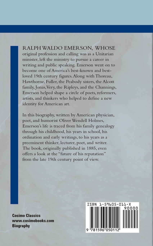 Ralph waldo emerson cosimo classics biography oliver wendell jr ralph waldo emerson cosimo classics biography oliver wendell jr holmes 9781596050112 amazon books fandeluxe Image collections