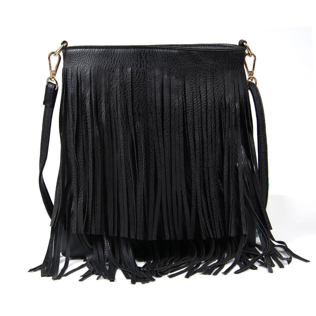 Lanpet Women Fringe Tassel Cross Body Bag Leisure Shoulder Bag  Handbags   Amazon.com d5b7b91c07