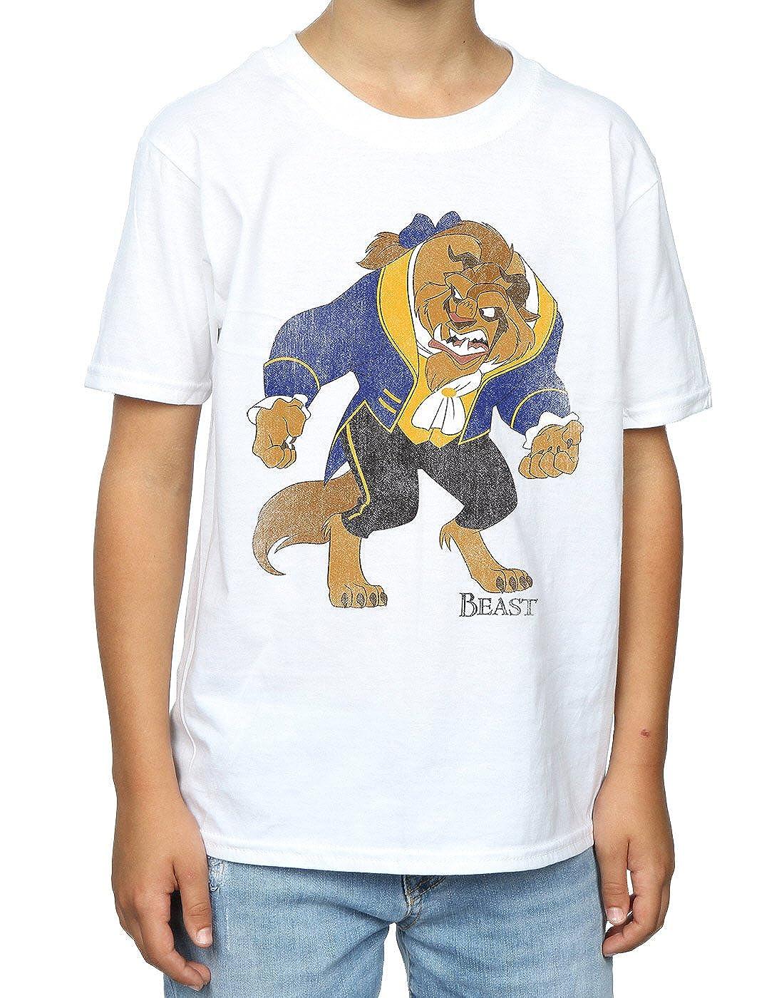 Disney ni/ños Beauty and the Beast Classic Beast Camiseta