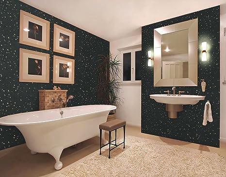 Buy 5mm Black Diamond Stone Wall Panels & Ceiling Panels AKA