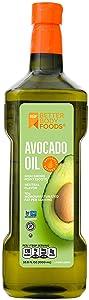 Betterbody Foods 100% Pure Avocado Oil Naturally Refined Cooking Oil Non-Gmo (1 Liter) 33.8 Oz, Keto & Paleo Friendly