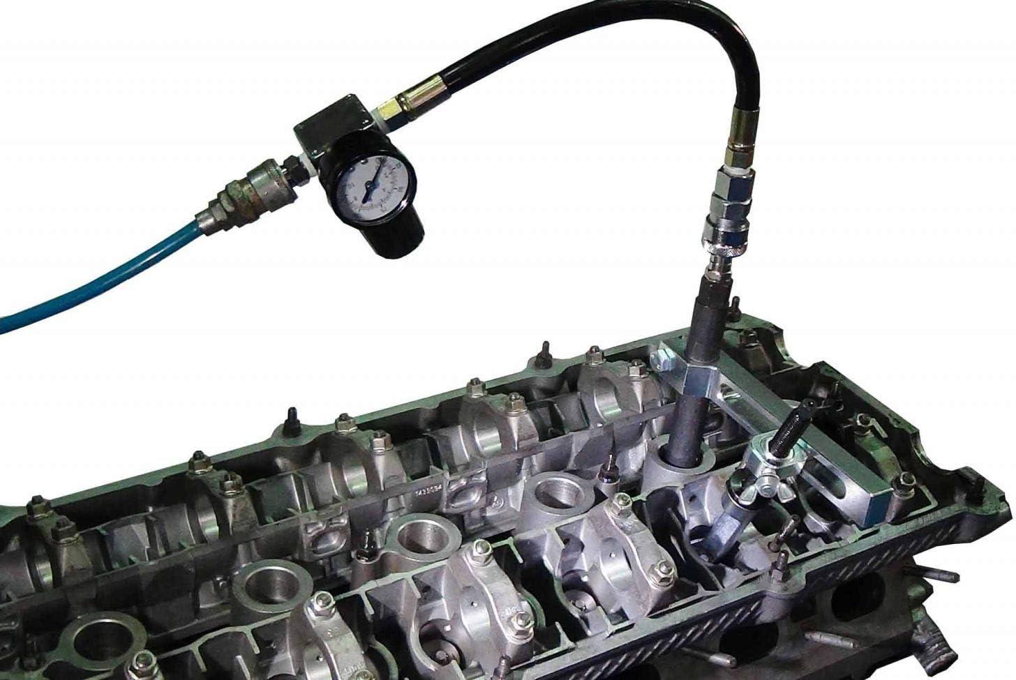 DPTOOL Valve Spring Compressor Engine Cylinder Head Remover Installer for Mercedes BMW