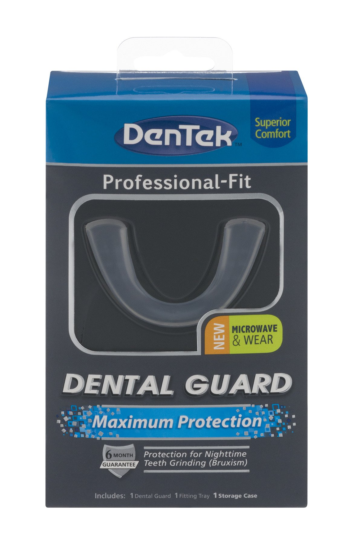 DenTek Professional-Fit Maximum Protection Dental Guard | Protection for Nightime Teeth Grinding