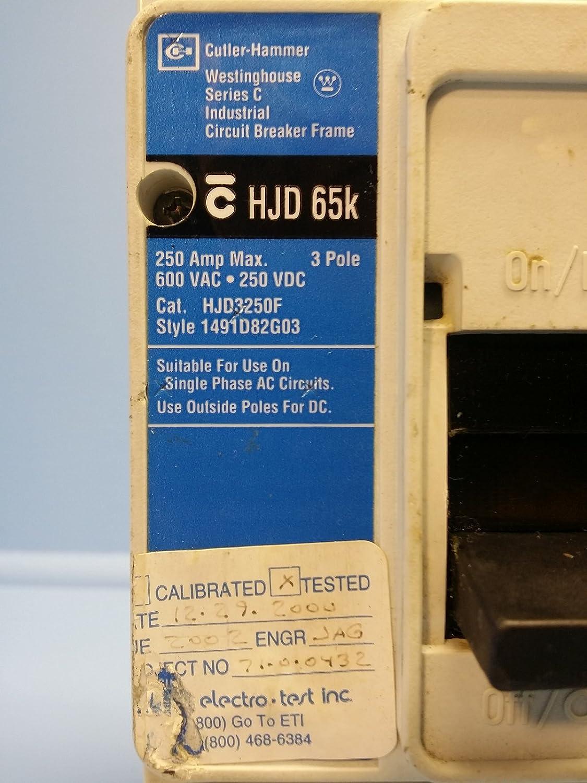 Westinghouse Hjd3250f 250 Amp Matte Breaker 175 A Jt3175t Cutler Rl Series Ac Circuit Hammer Hjd3175 Industrial Scientific
