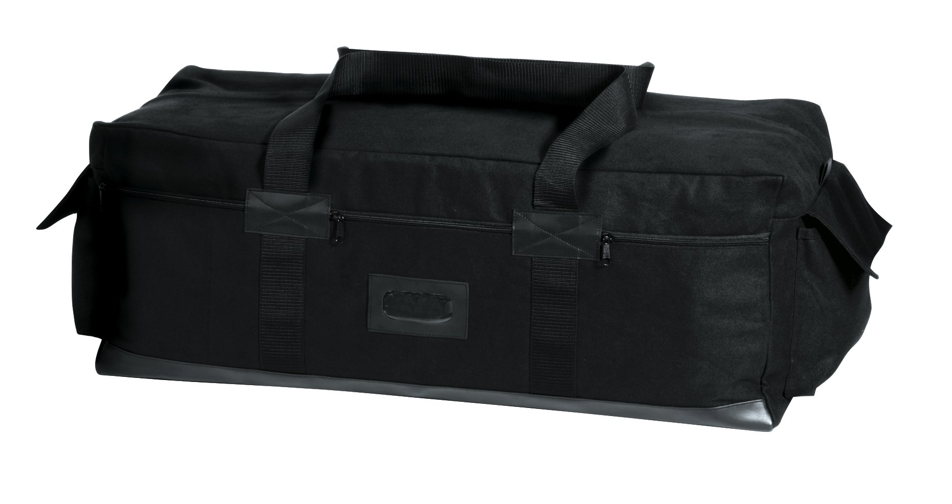 Rothco Canvas Israeli Type Duffle Bag, Black