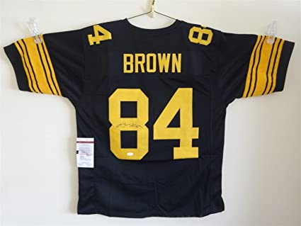 new arrival b18f0 5854c ANTONIO BROWN SIGNED AUTO PITTSBURGH STEELERS COLOR RUSH ...