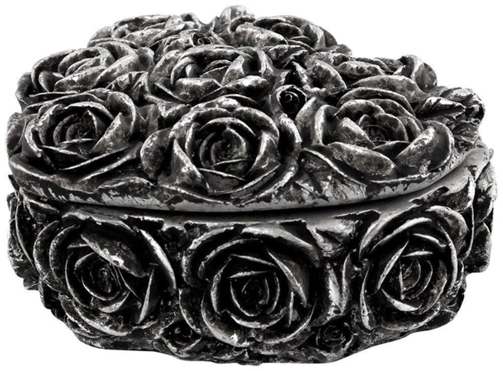 Scatola Rose Heart Alchemy Gothic (Argento)- Taglia Unica