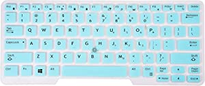 Ultra Thin Keyboard Cover for Dell Latitude 5491 5490 5480 7480 7490, Latitude E5490 E5480 E5491 E7450 E7470 E7480 E3350 E5450 E5470 Laptop - Mint