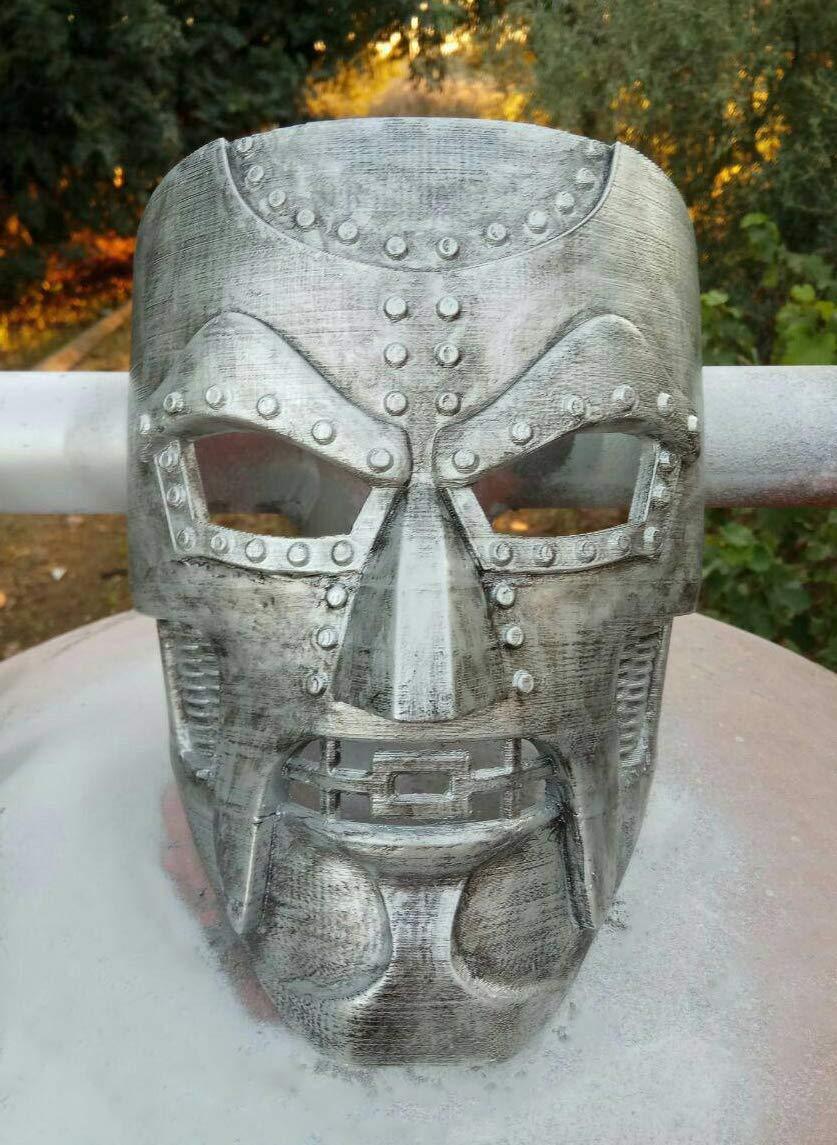 Doctor Doom 3D Printed Mask   Marvel Cosplay Prop   Victor Von Doom Mask