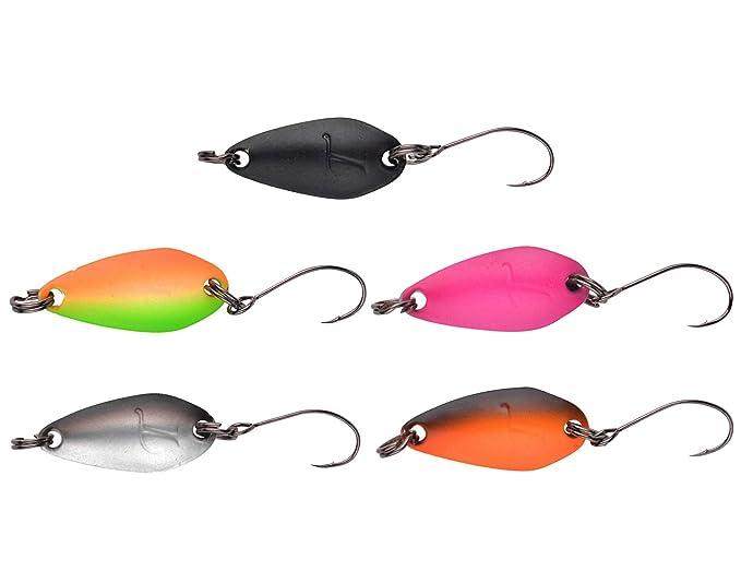 5 Trout Master Incy Spoon 2cm 1,5g Forellenköder Forellenblinker Blinker Set